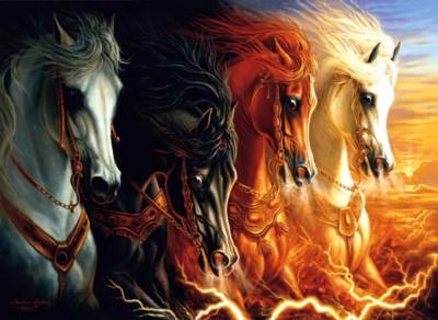 4 αλογα αποκαλυψης